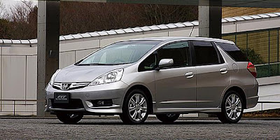2017 Honda Fit Shuttle Jazz Wagon