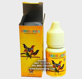 EBOD-JOSS adalah Suplemen vitamin penggacor burung yang mengandung multivitamin yang mampu merangsang pembentukan hormon testosteron.