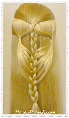 Pretty braided half up hairstyle. Easy video tutorial.