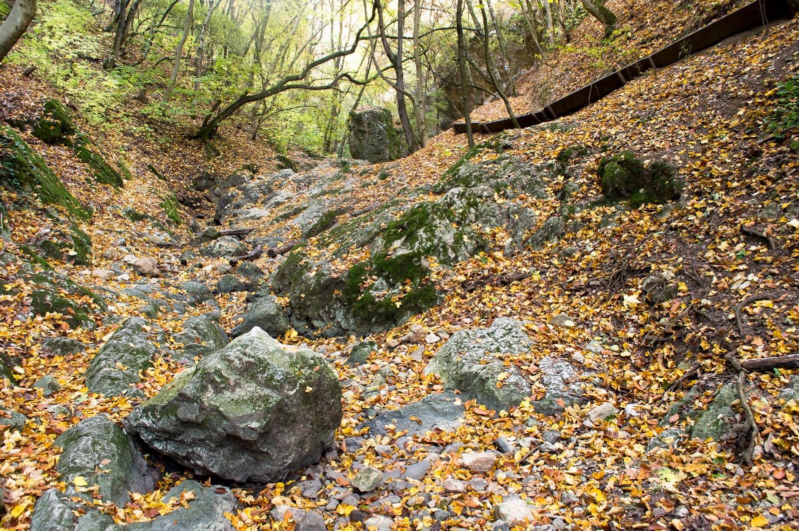 Dera-szurdok ősszel