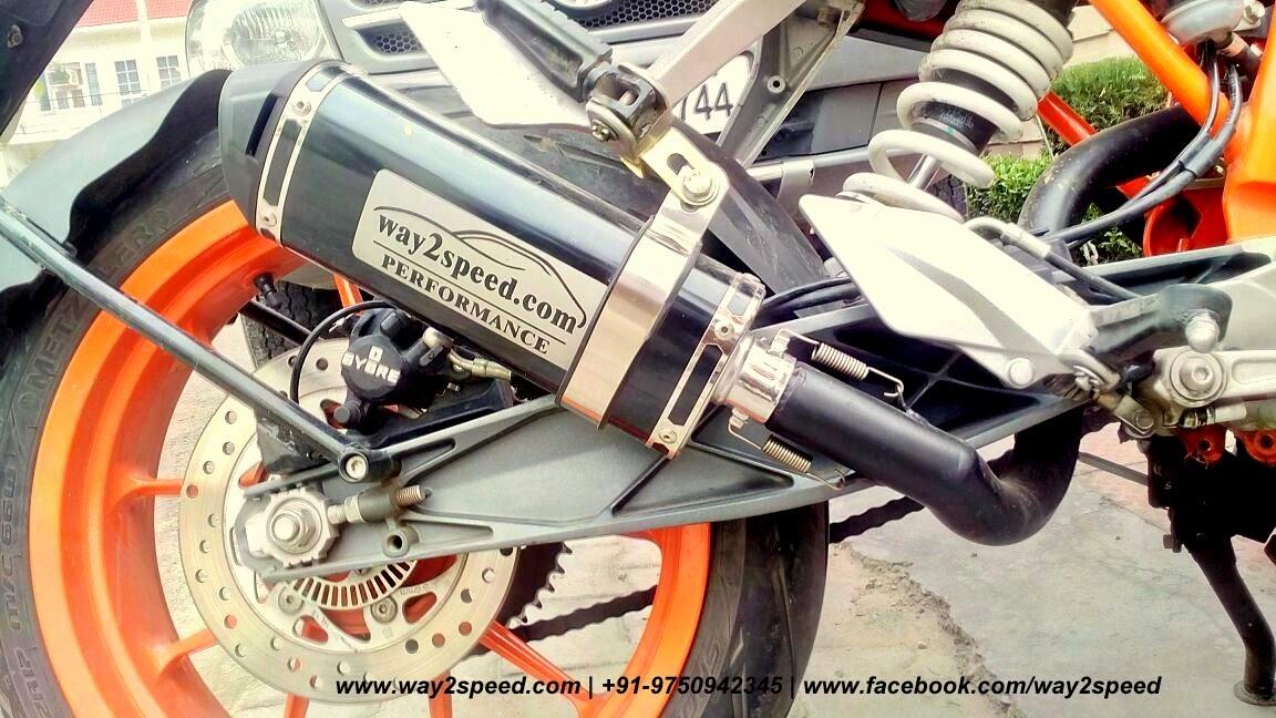 "KTM 390 DUKE Performance Exhaust  ""Hexa Corsa""   Way2speed Performance ktm duke 390 exhaust sound, ktm duke 390 exhaust modified, way2speed exhaust for ktm duke 390, ktm 390 duke performance mods"