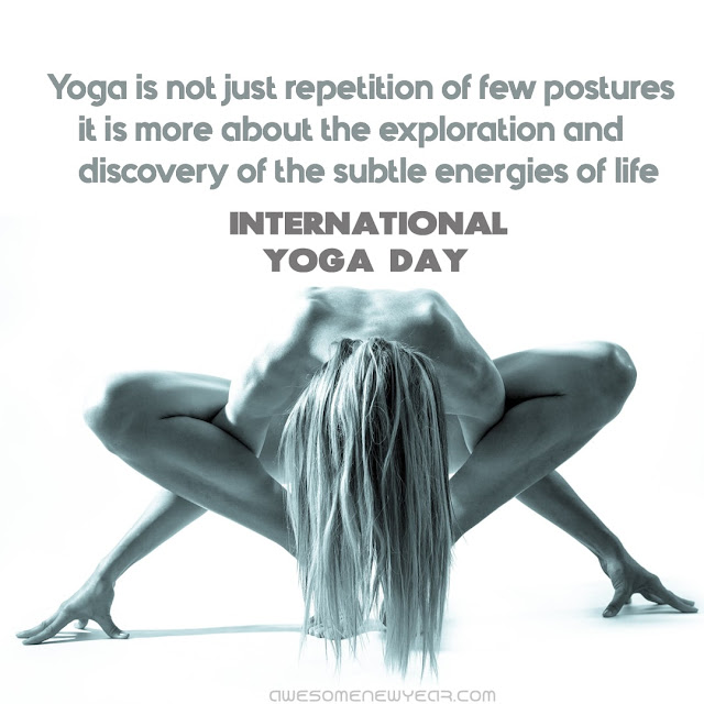 International Yoga Day Quotes With Images | World Yoga Day