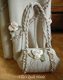 Quilted bag,tubular frame and dress