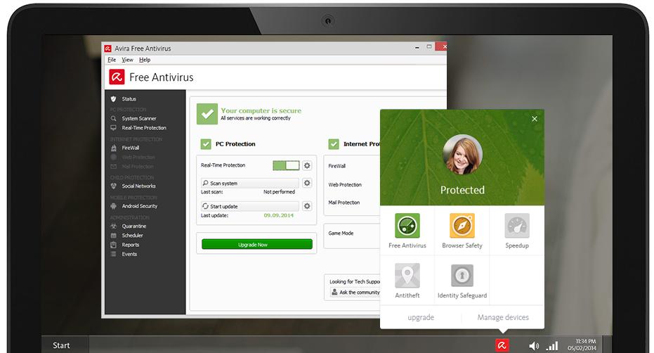Download Anti virus Avira Free 2016 Offline Installer 15 0
