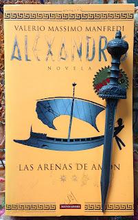 Portada del libro Las arenas de Amón, de Valerio Massimo Manfredi