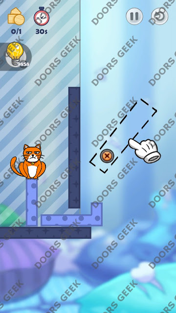 Hello Cats Level 76 Solution, Cheats, Walkthrough 3 Stars for Android and iOS