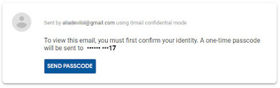 gmail new features interface confidential