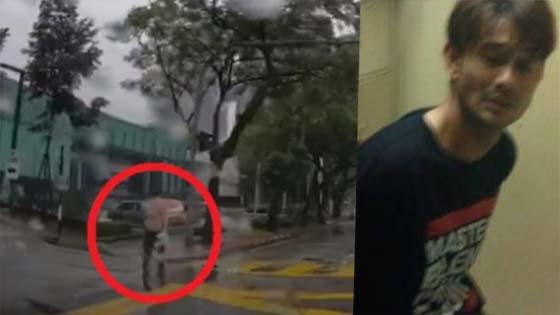 Viral Video Farid Kamil Tidak Berbaju Berkeliaran Di Jalanan Sebelum Dibawa Ke Balai Polis Gara-Gara Berkelakuan Pelik