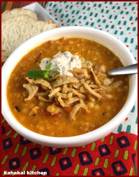 Kahakai Kitchen: Creamy Middle Eastern-Spiced Red Lentil ...