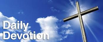 Today's Devotion (Wednesday)