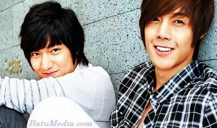 Lee Min Ho dan Kim Hyu Joong