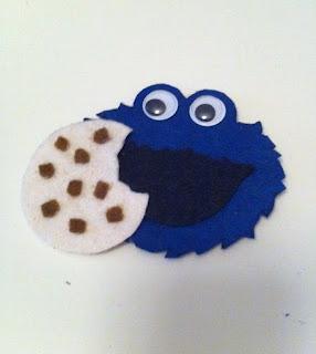 kurabiye canavarı buzdolabı magnet satın al