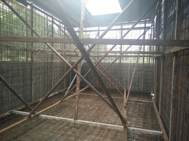 Thi công cốt thép tường 3d- đổ bê tông không cần coffa