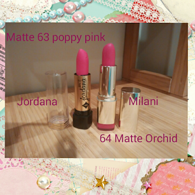 poppy pink vs matte orchid