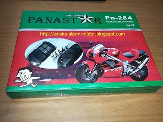 Alarm Motor PANASTAR PN-284 Double remote