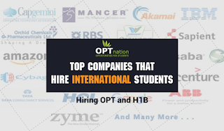 Top Companies That Hire International Students & Sponsor H1B