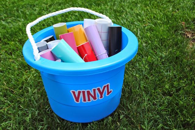 silhouette cameo vinyl rolls storage vinyl organization vinyl sheets