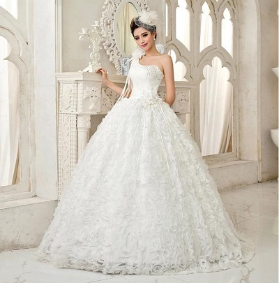 model gaun pengantin princess