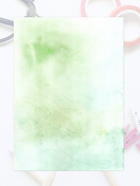 Free Watercolor Green Texture
