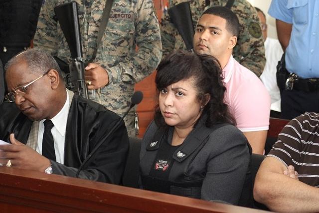 Marlon y su madre Marlin Martínez