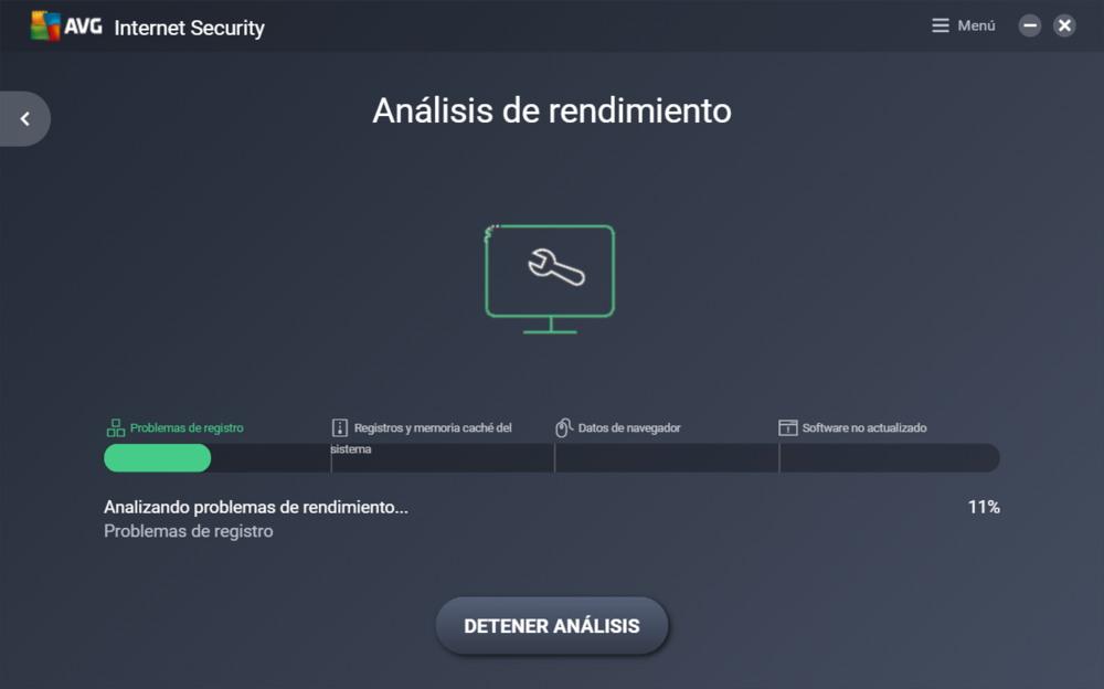 AVG 2017 Análisis PC