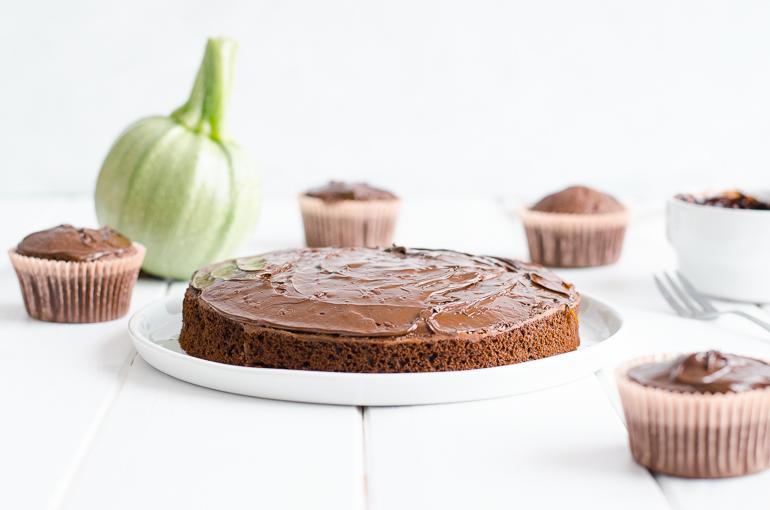 Gâteau Au Chocolat Et à La Courgette Sans Beurre Je Dis M Food