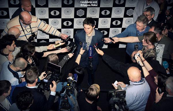 Le joueur d'échecs du mois: Sergey Karjakin, n°8 mondial