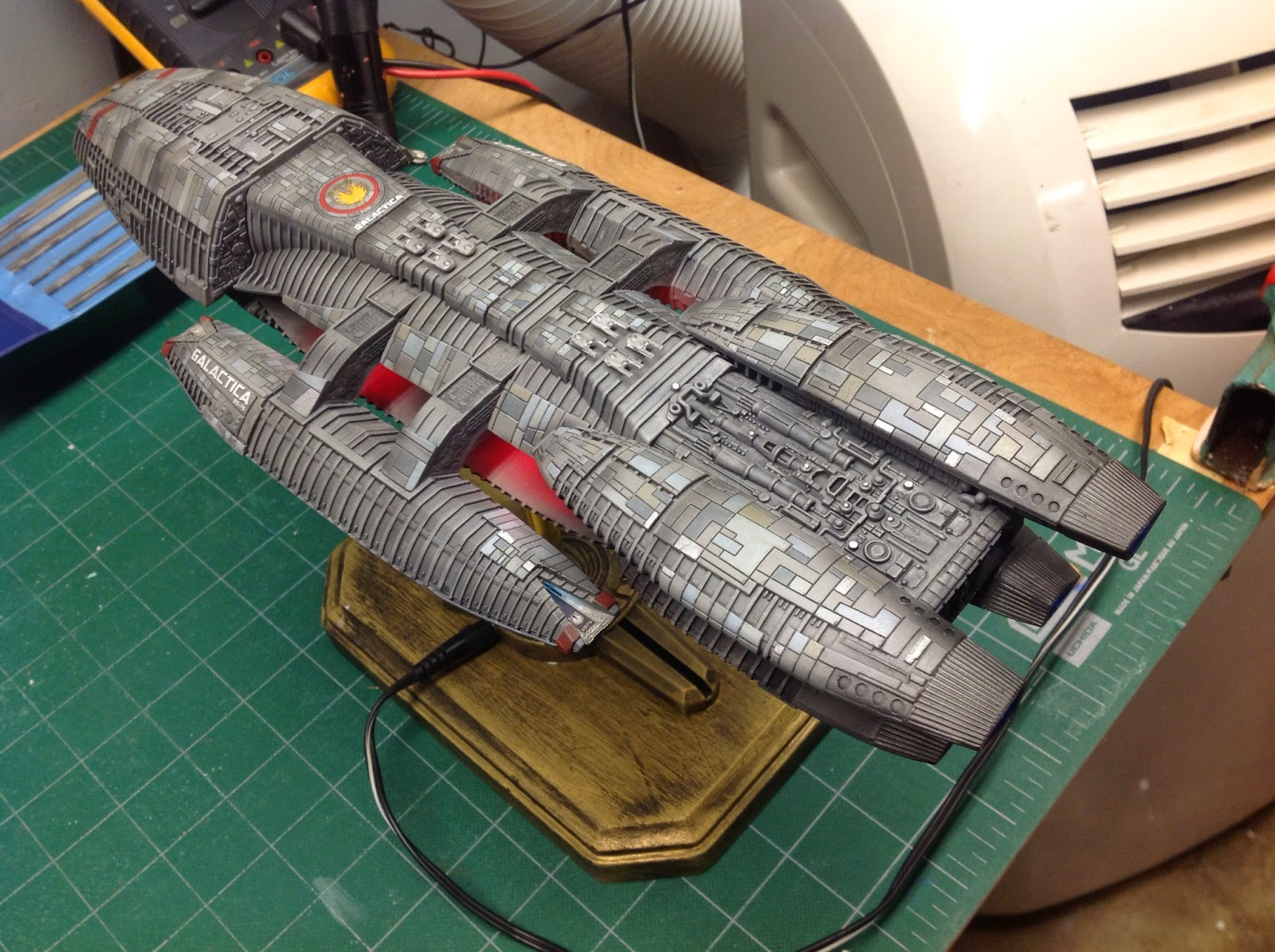 Moebius Scale Model BSG Galactica