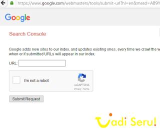 Indeks Cepat ke Google