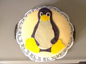 Gâteau Linux