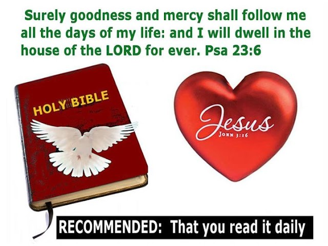 Goodness and Mercy of Jesus