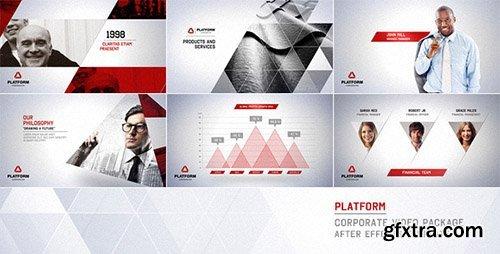 موقع بلال ارت-مصدرابداعك-تحميل مجموعة بروجيكت افتر افيكت VideoHive - Platform - Corporate Video Package