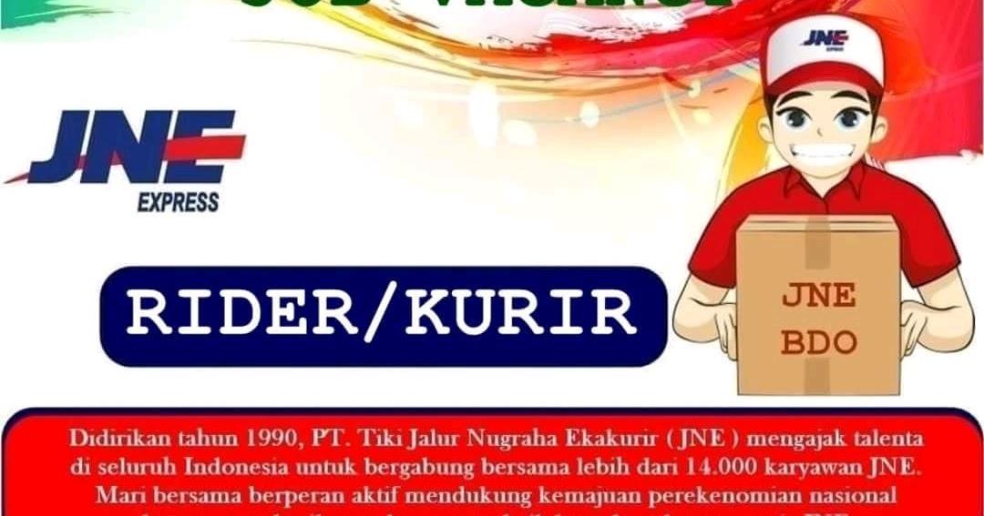 Lowongan Kerja Kurir Jne Bandung Terupdate 2020 Loker Karir