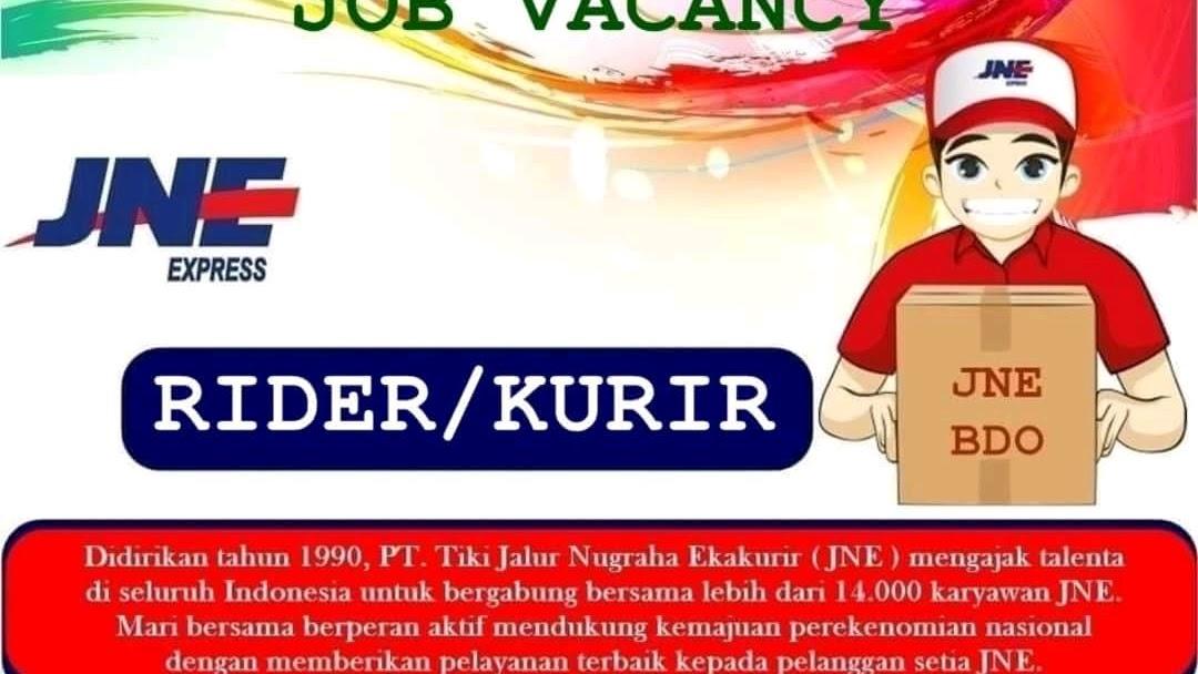 Info Lowongan Kerja Kurir Paket