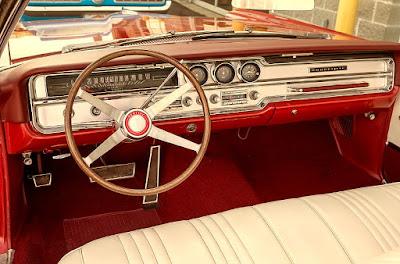 1965 Pontiac Bonneville Convertible Steering Wheel