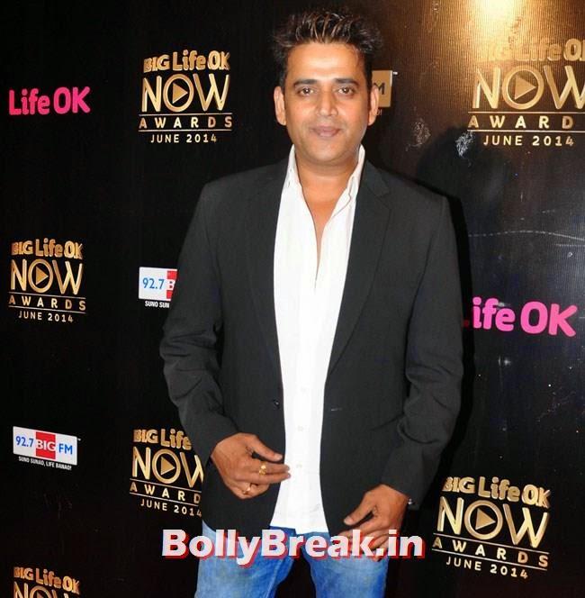 Ravi Kishan, Life OK Now Awards 2014 Red Carpet Pics