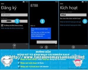 Tải zalo về máy điện thoại lumia 520 620 720
