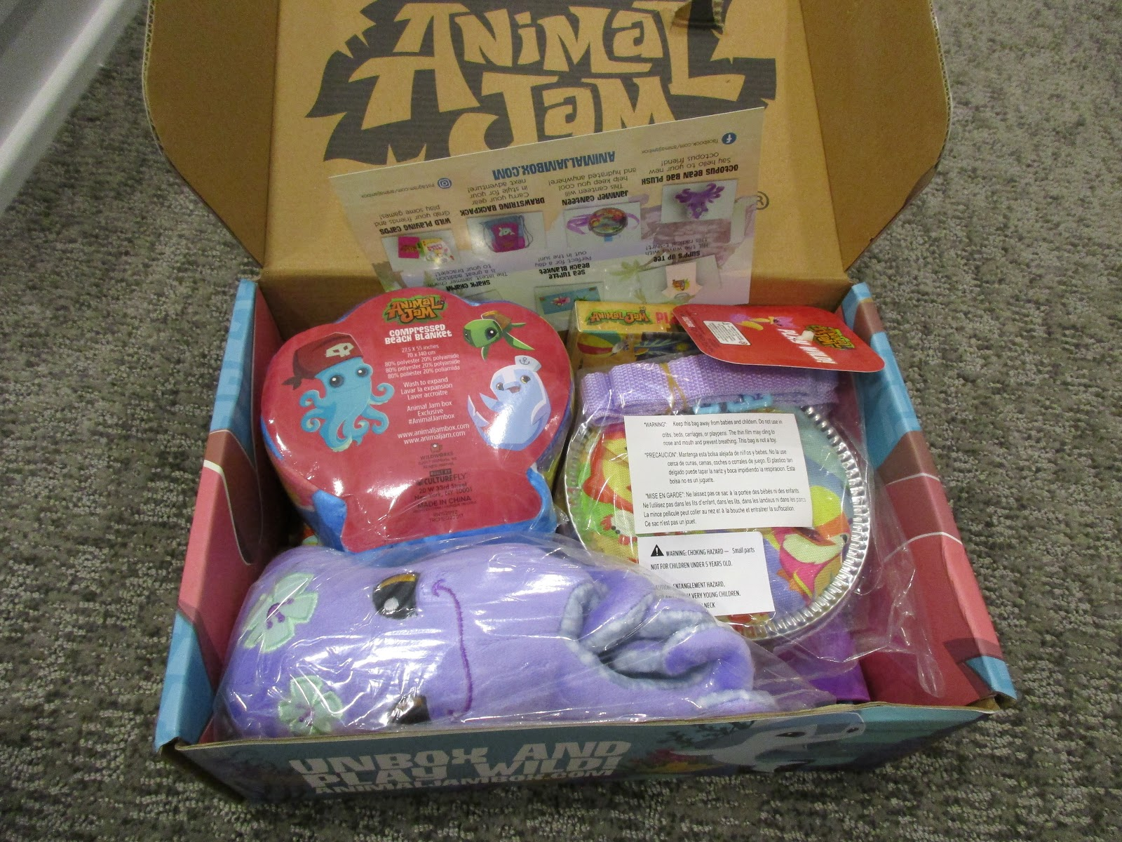 The Animal Jam Whip Animal Jam Box Summer 2017 Unboxingreview