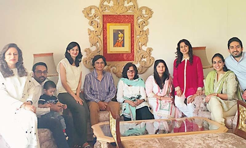 Juhi chawla visits karachi, pakistan to attend a marriage ceremony