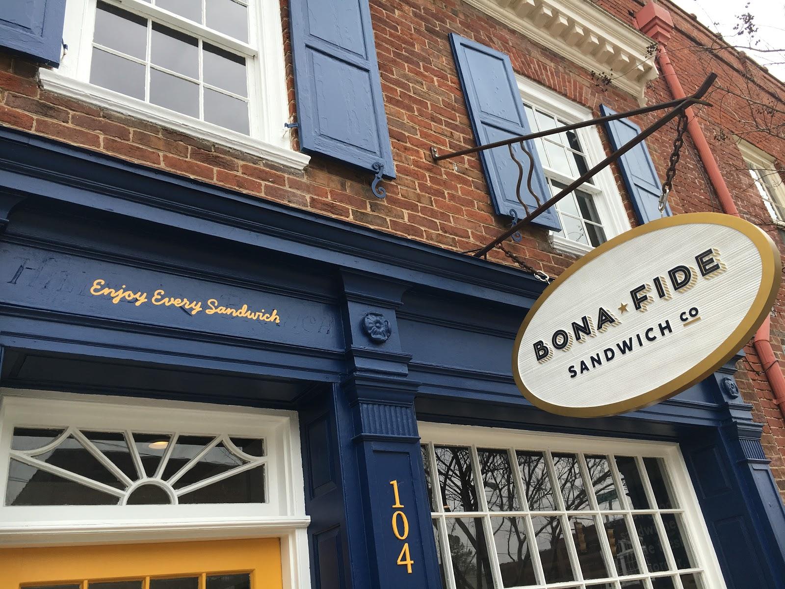 Katharines Travel Blog Bonafide Sandwich Shop In Hillsborough Nc