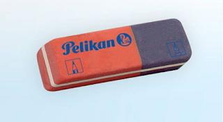Ένας μύθος καταρρέει: Το μπλε κομμάτι της γόμας δεν φτιάχτηκε για να σβήνει στυλό