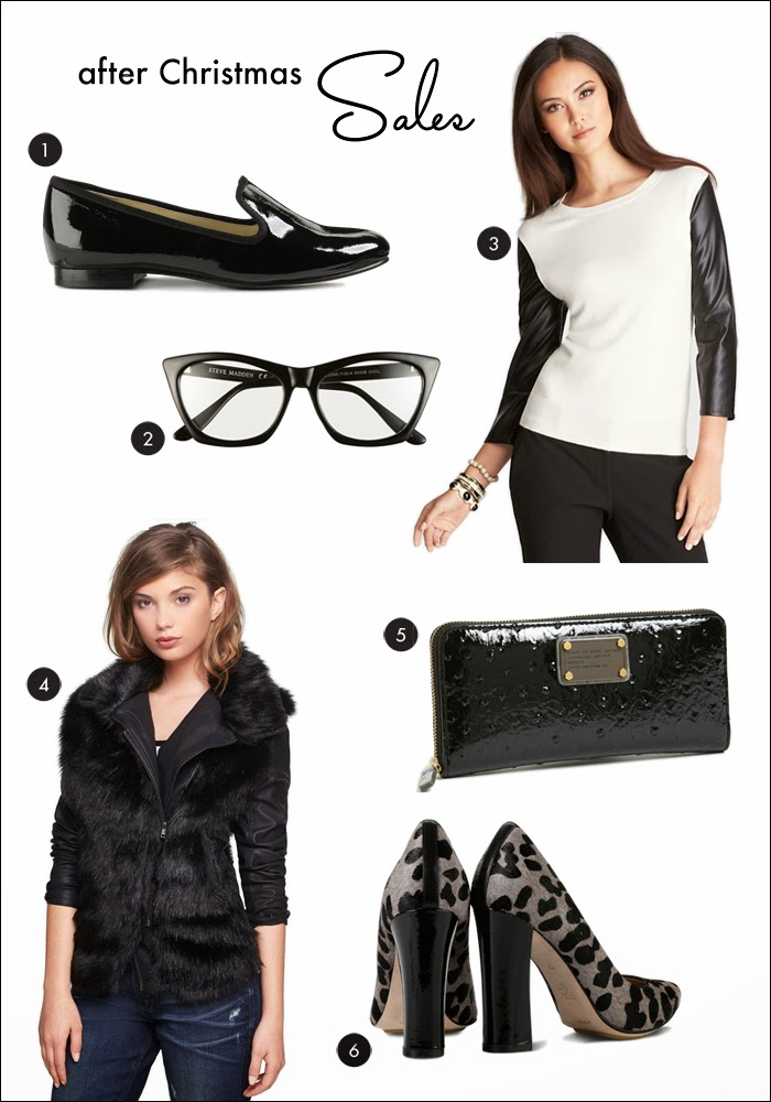 nordstrom, fashion glasses, smoking slippers, cole haan, ann taylor, faux fur jackets, marc by marc jacobs, trends, great deals