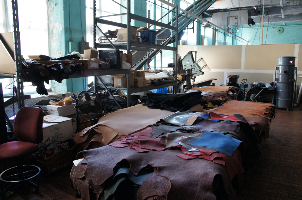 be64e0589af Anchor Division's Journal - A walk through Frank Clegg Leather Works ...