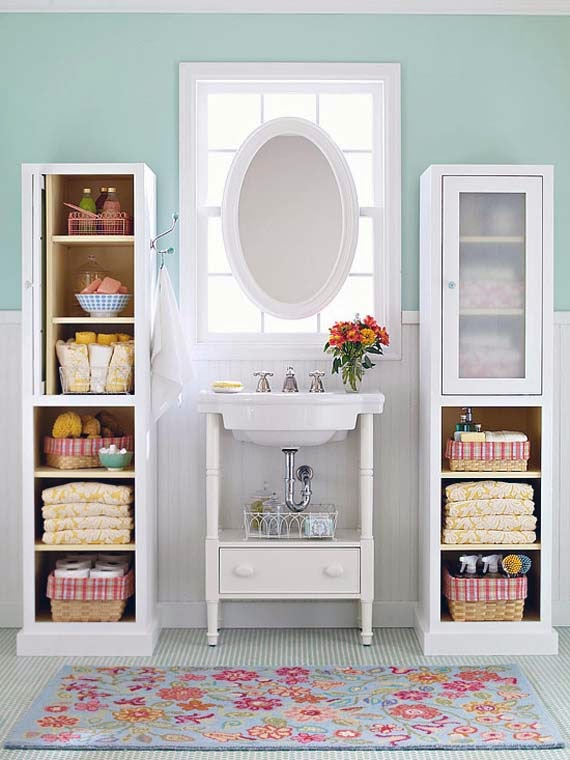 Ways to Organize Bathroom Cabinets picture
