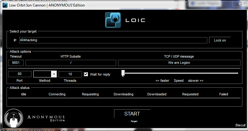 loic ddos windows download