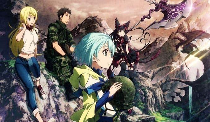 جميع حلقات انمي Gate S1 الموسم الأول مترجم على عدة سرفرات للتحميل والمشاهدة المباشرة أون لاين جودة عالية HD