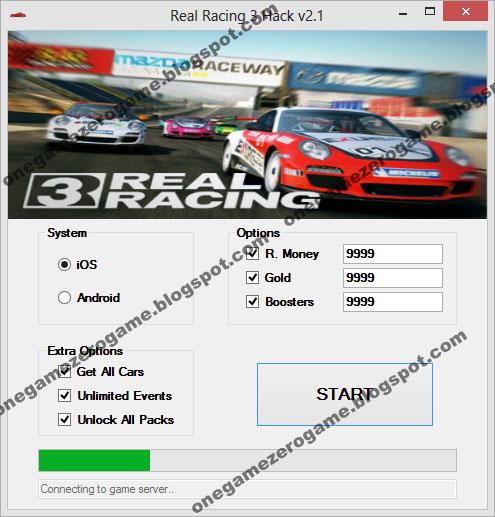 Real Racing 3 hack cheats (All versions)