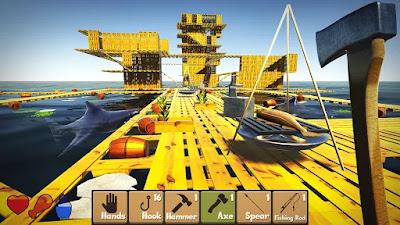 raft survival simulator apk