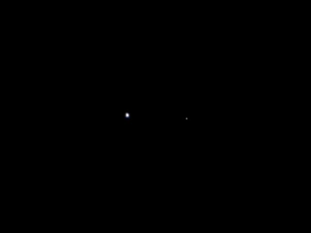 כדור הארץ מהחלל כפי שצולם על ידי חללית יונו ממרחק עשרה מיליון קילומטרים