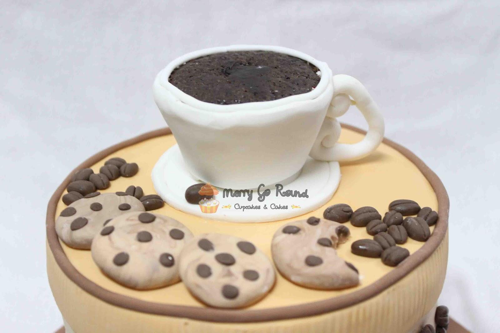 Coffee Lovers Birthday Cake